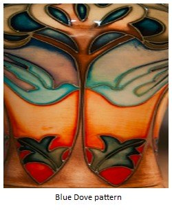 moorcroft-blue-dove pattern