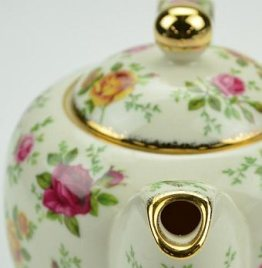 Antique Bone China teapot