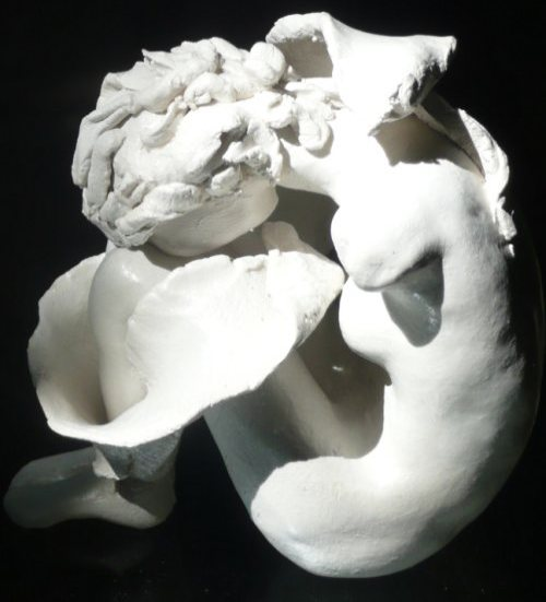 air drying clay sculpture