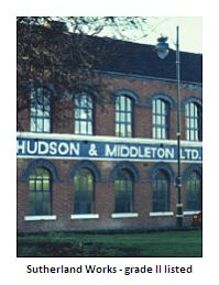 history of Hudson & J. H. Middleton - founded established