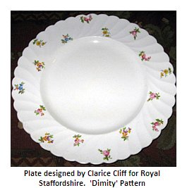 Royal Staffordshire - Clarice Cliff