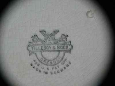 A Real or Fake Villeroy & Boch Pottery Mark?