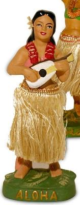 Traditional Vintage Collectible Hula Girl Figurine