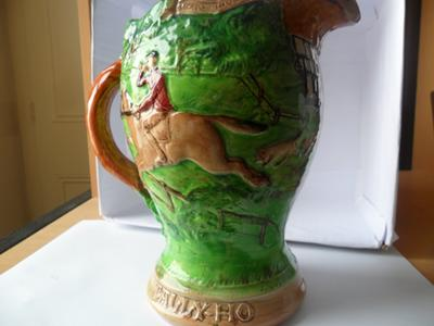 Antique and Fine China Collectibles - Burleigh Fox Hunting Jug Pitcher
