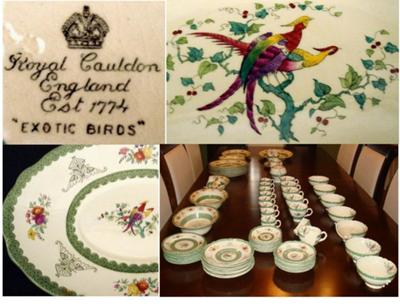 Antique China and Fine China Query - Royal Cauldon