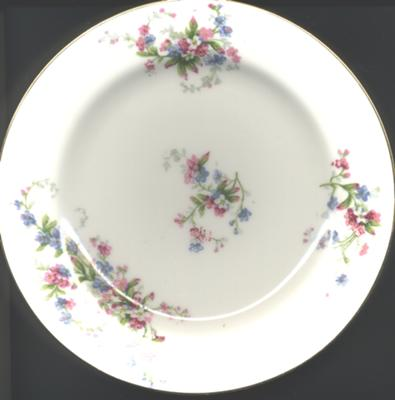 Antique u0026 Fine China Collectibles - Limoges Dinner Set - Green Fleur de Lis Mark & Antique u0026 Fine China Collectibles - Limoges Dinner Set - Green Fleur ...