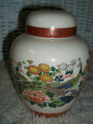Antique & Fine China - Vintage Japanese Kaneyama Kiln Ginger Jar