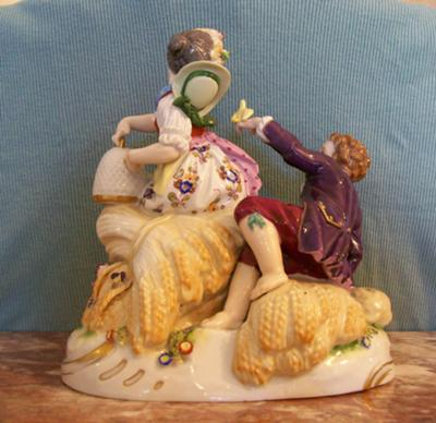 Boy and Girl Figurine Mark Query -