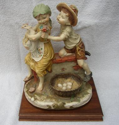 Capodimonte Quot N Quot Crown Pottery Mark Giuseppe Armani