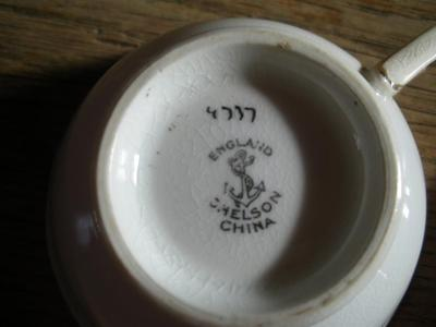 Chelson China antique bone china query - photo of backstamp