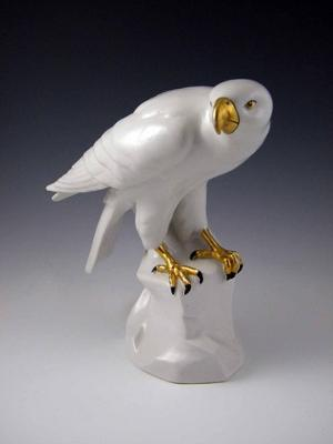 Clover and Crown Pottery Mark Query - White Eagle with Gold Beak and Talons
