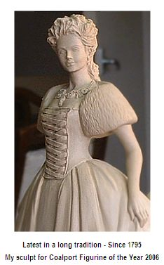 P. Holland coalport sculpt