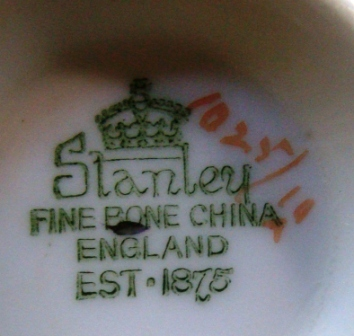 Complete TEA SET Inheritance - Stanley fine bone china England est 1875
