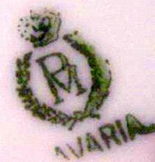Crown Motif Over Letter P Over Letter M - Pottery Mark Query - 'PM' Made in Bavaria pottery mark