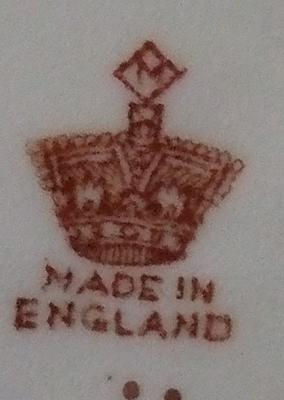 Crown Pottery Mark With an 'M' Above Query