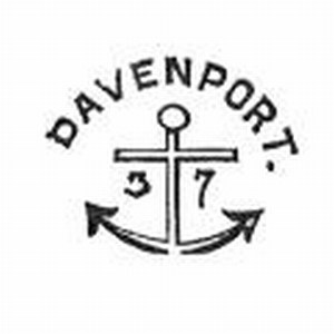 davenport anchor pottery mark with date
