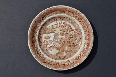 EJD Bodley pottery mark on plate