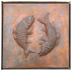 fishes art sculpture