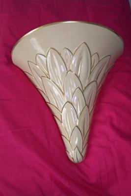 Gray's pottery stoke on trent wall vase