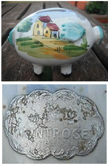 hand-painted-italy-ceramic-piggy-bank-montrose-sticker-label