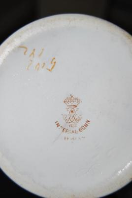Below the mark there are two different signs - Imperial Bonn - Pottery mark and signatures query