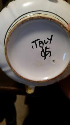 Italian Dishware - Markings VG? OR GV?
