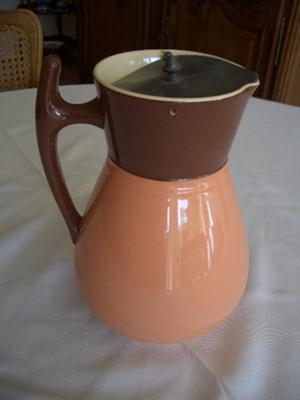 'JM & Co' pottery mark on two-tone Jug