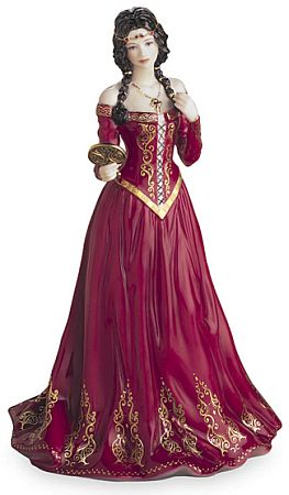 Medieval Princess Figurine - Royal Worcester