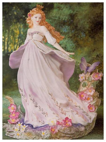 Titania Fairy Figurine, bone china,