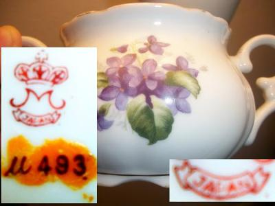 'M' With Crown Japan Pottery mark Query