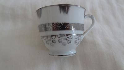 MTK Elephant Mark on Porcelain Cup and Saucer