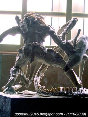 Air-Dry Clay Fantastic for Fantasy Artists - Alien vs Predator