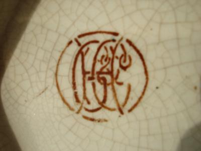 My taunting jug!! - Marked GH&C or HG&C or HG&C backstamp in circle {Editor says try GH & Co}