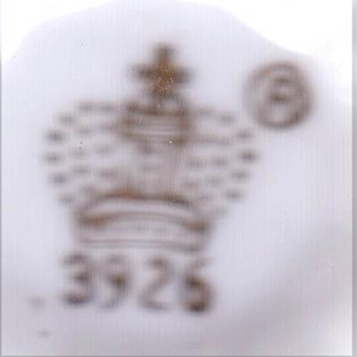 Mystery 'Crown' Pottery Mark - {Editor says 'Arnart China' of Japan}