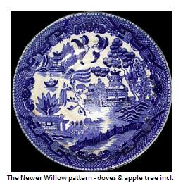 new minton willow pattern