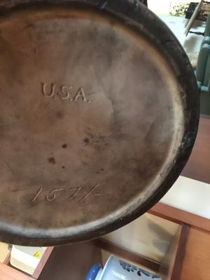 USA marked art pottery 1920's or 1930's