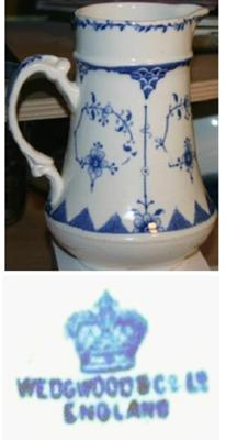 Pottery Mark Alert! Wedgwood & Co is NOT J. Wedgwood query - Old Milk Pot image