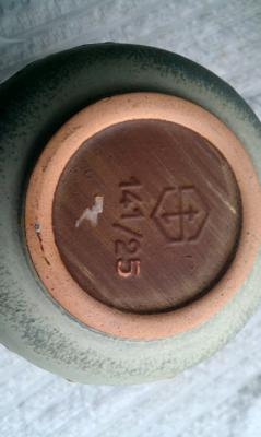 Pottery Mark on Jug query -  Regular Hexagon Device Fashioned into
