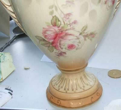 """When Was Ford Founded >> Pottery Mark Query - Crownford English Urn """"vase with a lid"""""""