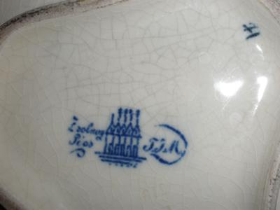 Pottery Mark Query - Foreign Writing With Factory and Chimneys