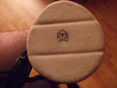 Pottery Mark Query - heart inside a pentagon OR heart in a house