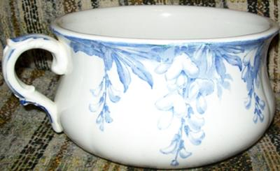 Pottery Mark Query - Old Chamber Pot,