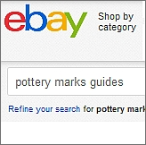 pottery mark guides-on-ebay
