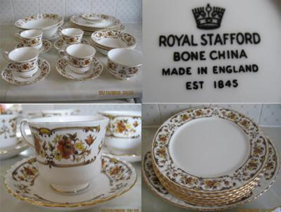 ROYAL STAFFORD CLOVELLY SET