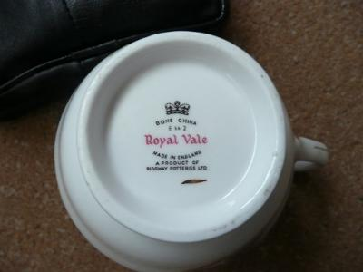 Royal Vale 'Cottage' Teaset - ? value