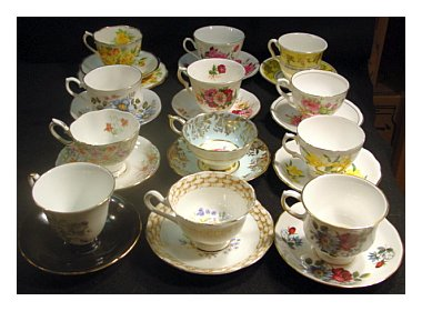 Royal Vale Bone China Cups