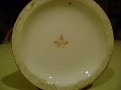 Royal Vienna Porcelain Vase Wing Pottery Mark in Red/Brown Saying Austria