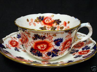 Atlas China Teacup and Saucer Set