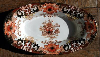 Samuel Radford China Dish - The Rest of the Story