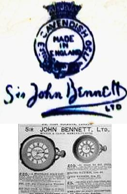 Sir John Bennett China Tableware Pottery Mark - Antique China Query
